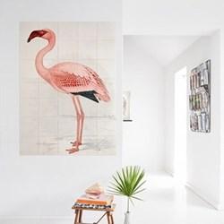 Art - Flamingo Finch-Davies Wall decoration, 80 x 120cm