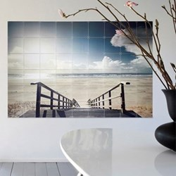 Photography - Beach Wall decoration, 120 x 160cm