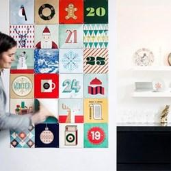 Hannes Beer Advent calendar, 24 cards (20 x 20cm)