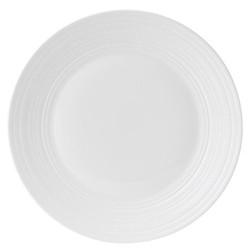 Strata Dinner plate, 27cm, white