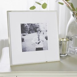 "Fine Silver Photograph frame, 5 x 5"""