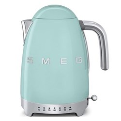 50's Retro Kettle with 7 temperature settings, 1.7 litres, pastel green