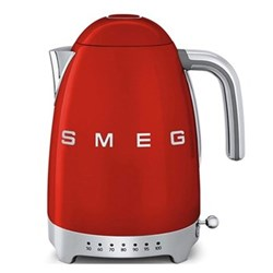 50's Retro Kettle with 7 temperature settings, 1.7 litres, red