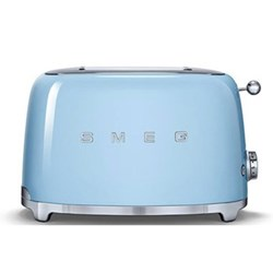 50's Retro 2 slice toaster, pastel blue