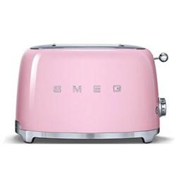 50's Retro 2 slice toaster, pink