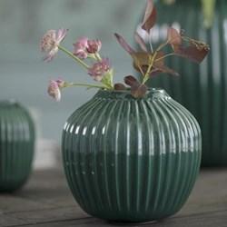 Hammershoi Vase, H12.5 x W13.5cm, green
