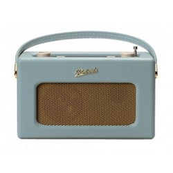 Revival RD70 DAB digital radio, H16 x W25.2 x D10.4cm, duck egg