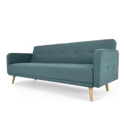 Chou Sofa bed, H82 x W210 x D88/110cm, sherbet blue