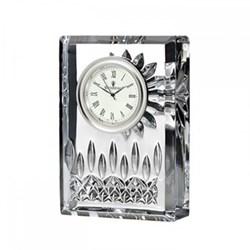 Lismore Clock, 10cm, clear