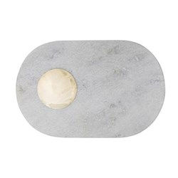 Stone Chopping board, W42 x H15cm, marble