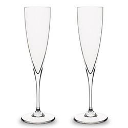Dom Perignon Pair of Champagne flutes