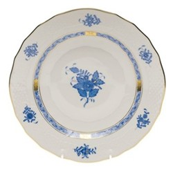 Apponyi Dessert plate, 23 x 2.5cm, blue