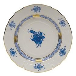 Apponyi Side plate, 16.5 x 1.8cm, blue