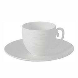 Hemisphere Mocha cup, 7cl, white