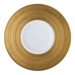 Hemisphere Dessert plate, 21cm, full gold rim
