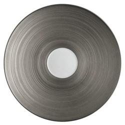 Hemisphere Tea saucer, full platinum rim