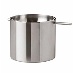 Cylinda-Line by Arne Jacobsen Revolving ashtray, H6.5 x W7.5cm, satin stainless steel