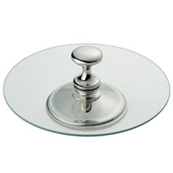 Classique Cheese tray, glass and silver