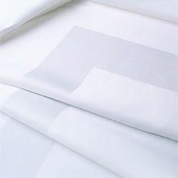 Satin Band Placemat, 30 x 46cm, off white single damask