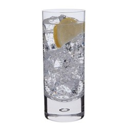 Exmoor Pair of highball glasses, H16.5cm - 39cl, clear