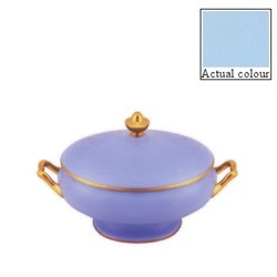 Sous le Soleil Covered vegetable dish, 21.5cm - 1.2 litre, opal with classic matt gold band