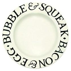 Black Toast Dinner plate, 26.8cm
