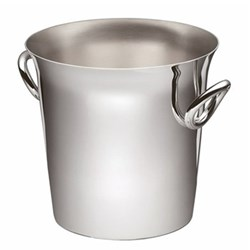 Vertigo Champagne bucket, 19cm, Christofle silver