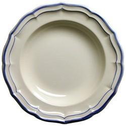 Filet Bleu Rim soup plate, 22.5cm