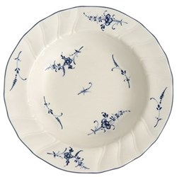 Old Luxembourg Deep plate, 23cm, porcelain