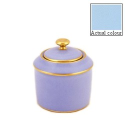 Sous le Soleil Sugar bowl straight sided, 20cl - 6 cup, opal with classic matt gold band
