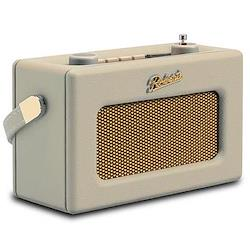 Revival Uno DAB/DAB+/FM digital radio with alarm, H14 x W21 x D9cm, pastel cream