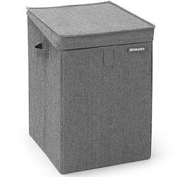 Stackable Laundry box, 35 litre, pepper black