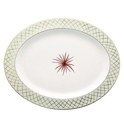Etoiles Oval platter, 33cm