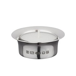 Tealight, 5.3cm, sterling silver