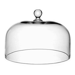 Country - Classic Plain dome for cake stand, 28cm