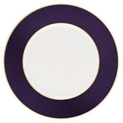 Sous le Soleil Cake plate, 18cm, cobalt blue with classic matt gold band