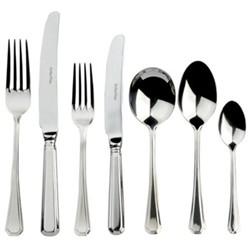 Grecian 7 piece place setting, sovereign stainless steel