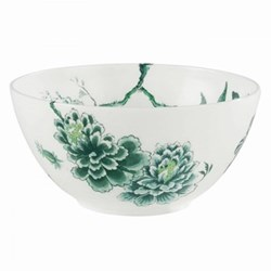 Chinoiserie White Salad bowl, 20cm
