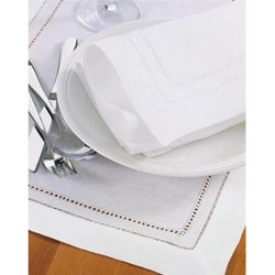 Kerry Border Set of 6 placemats, 36 x 51cm, hand drawn thread work