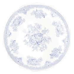 Asiatic Pheasants Cake plate, 28cm, blue