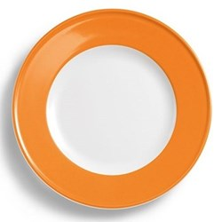 Solid Colour Plate with rim, 26cm, orange