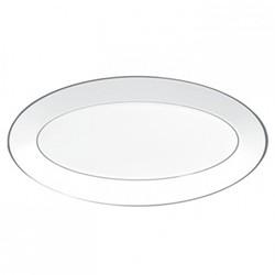 Platinum Oval dish, 39 x 21.5cm