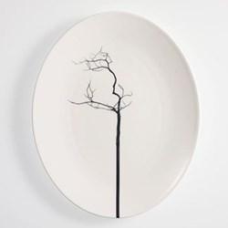 Black Forest - Pure Oval platter, 32cm, fine bone china