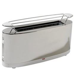 Stefano Giovannoni Toaster with bun warmer, white