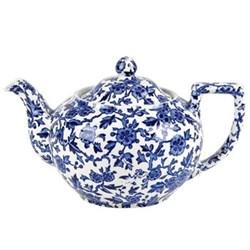 Arden Teapot large, 7 cup, blue