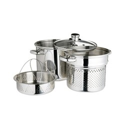 World of Flavours - Italian Pasta pot, Dia20cm - 4L, stainless steel