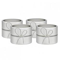 Vera Wang - Love Knots Set of 4 napkin rings