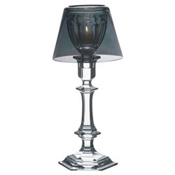 Harcourt - Our fire by Philippe Starck Candlestick, 32.5cm, silver