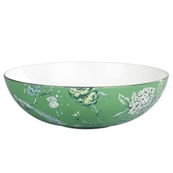 Chinoiserie Green Serving bowl, 30cm