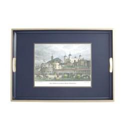 Traditional Range - Shepherd's London Traditional tray, 55 x 39.5cm, Oxford blue